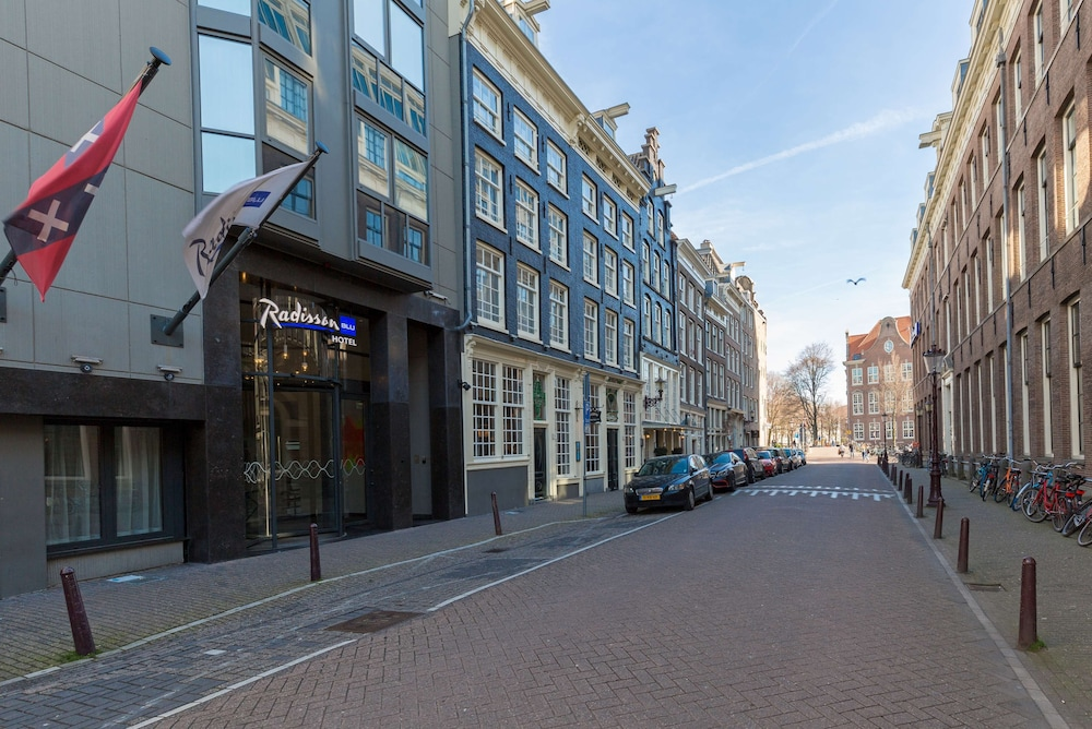 Exterior, Radisson Blu Hotel, Amsterdam City Center