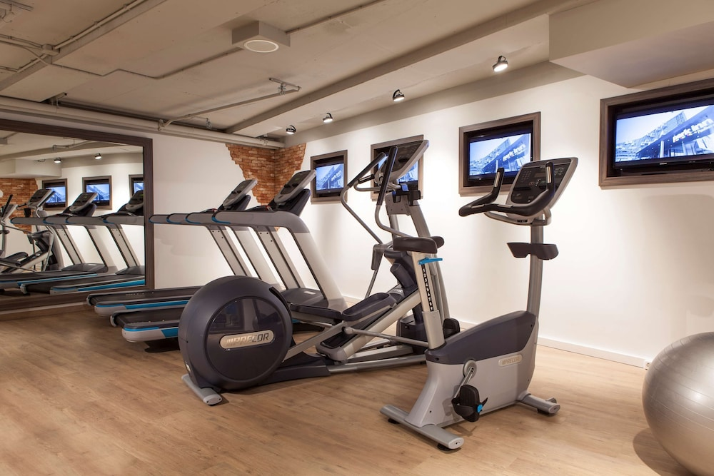 Fitness Facility, Radisson Blu Hotel, Amsterdam City Center