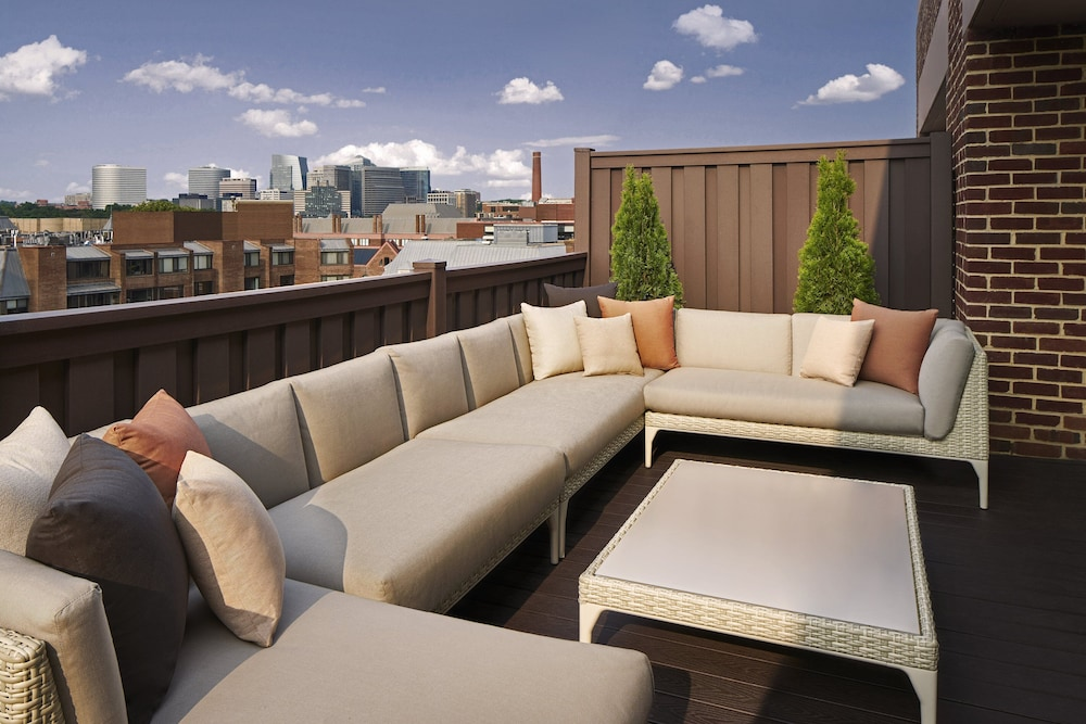 Rooftop terrace, Four Seasons Hotel Washington D.C.