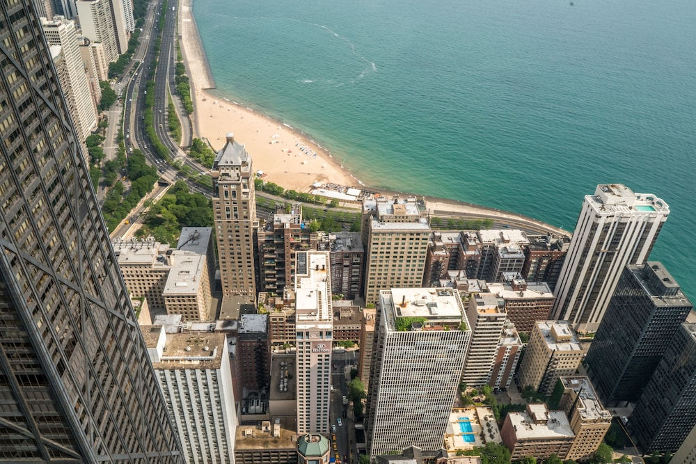 Aerial View, The Ritz-Carlton, Chicago