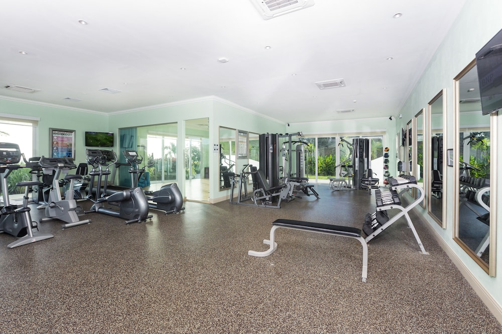 Fitness Facility, Windjammer Landing Villa Beach Resort