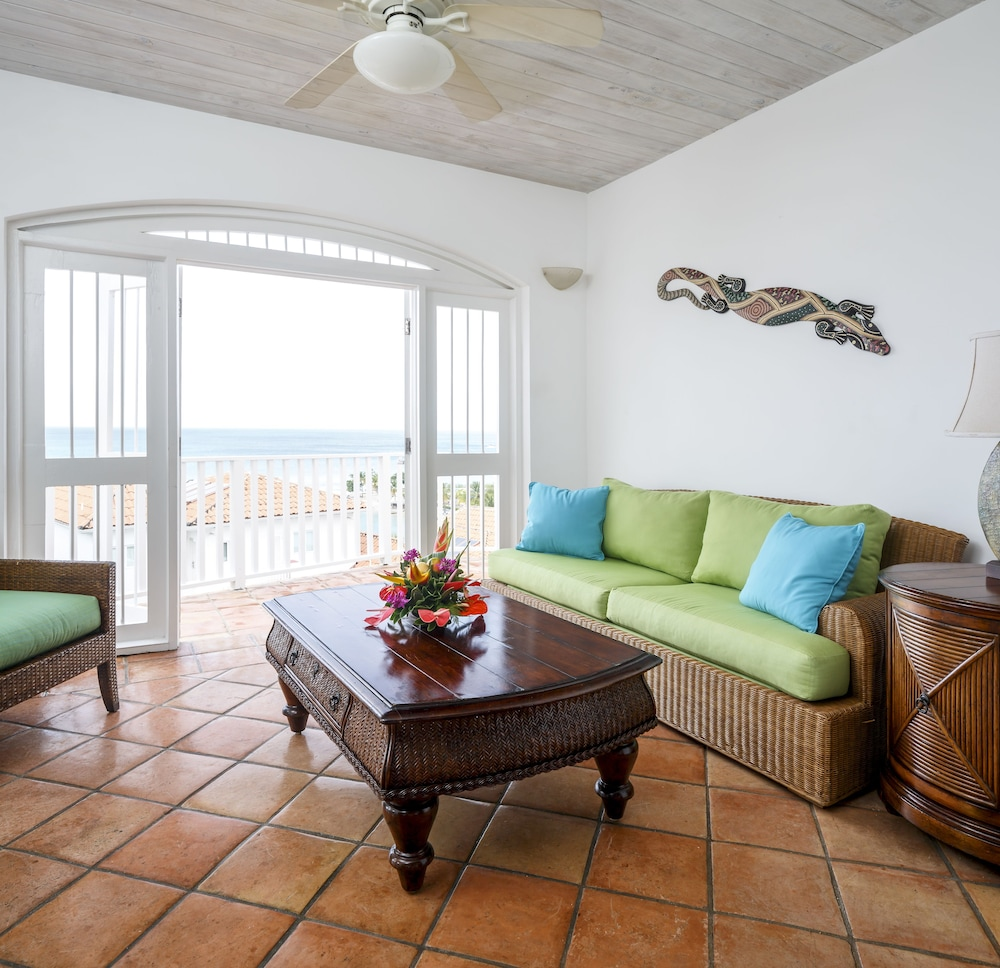 Living Area, Windjammer Landing Villa Beach Resort