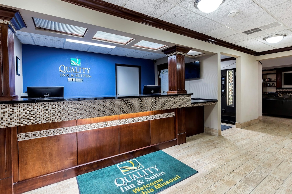 Reception, Quality Inn & Suites Columbia I-70
