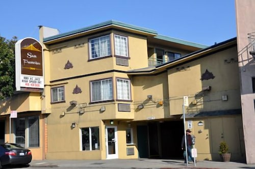 Front of Property, San Francisco Inn