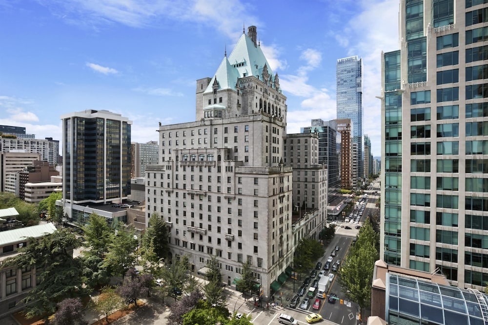 Featured Image, Fairmont Hotel Vancouver