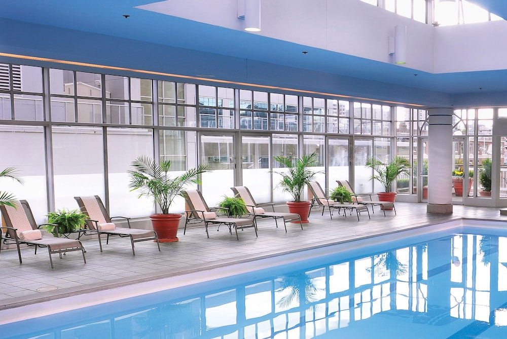 Indoor Pool, Fairmont Hotel Vancouver