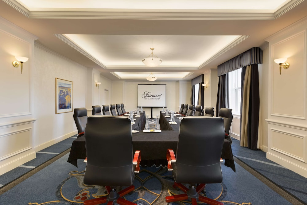 Meeting Facility, Fairmont Hotel Vancouver