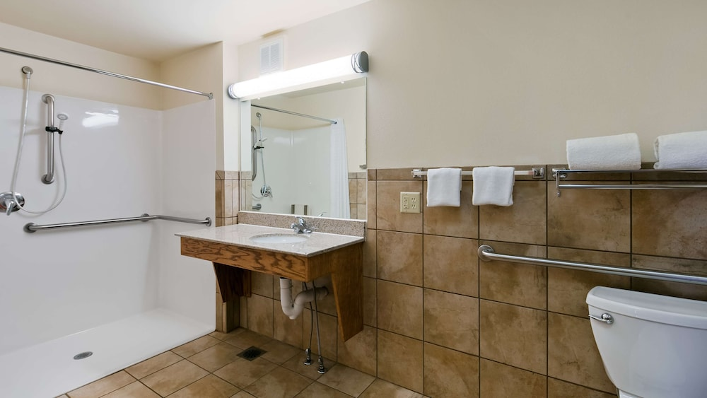 Bathroom, Best Western Plains Motel