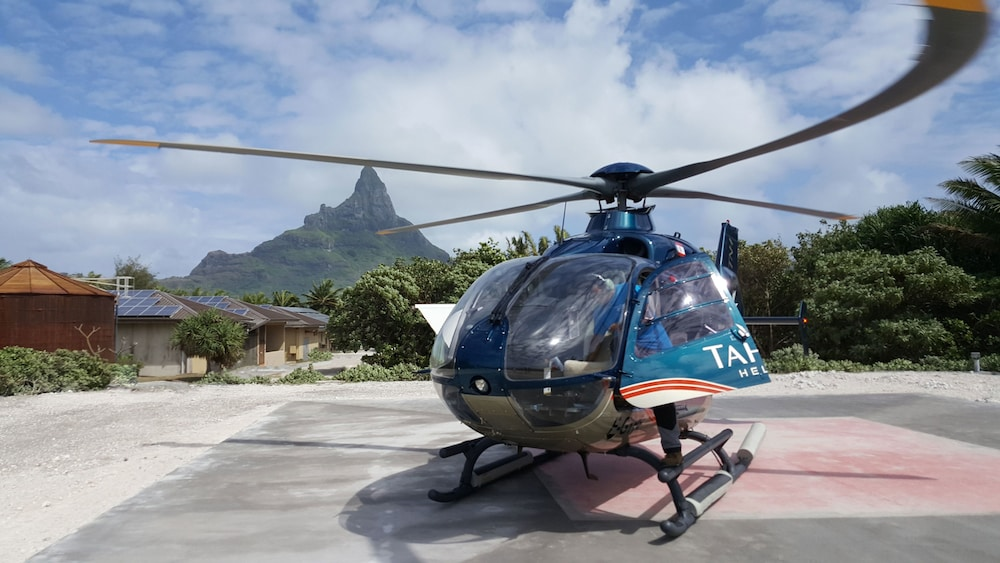 Helicopter/Plane Tours, InterContinental Bora Bora Resort and Thalasso Spa