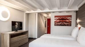 Coffres-forts dans les chambres, Wi-Fi gratuit, draps fournis
