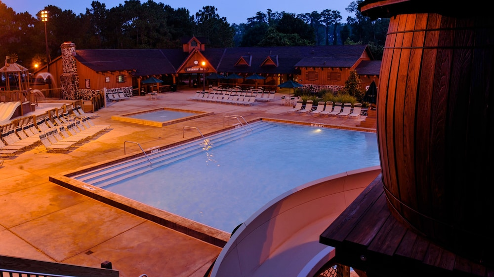 Outdoor Pool, The Cabins at Disney's Fort Wilderness Resort