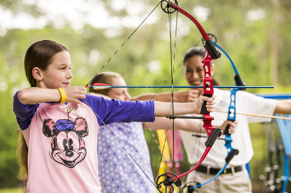 Archery, The Cabins at Disney's Fort Wilderness Resort