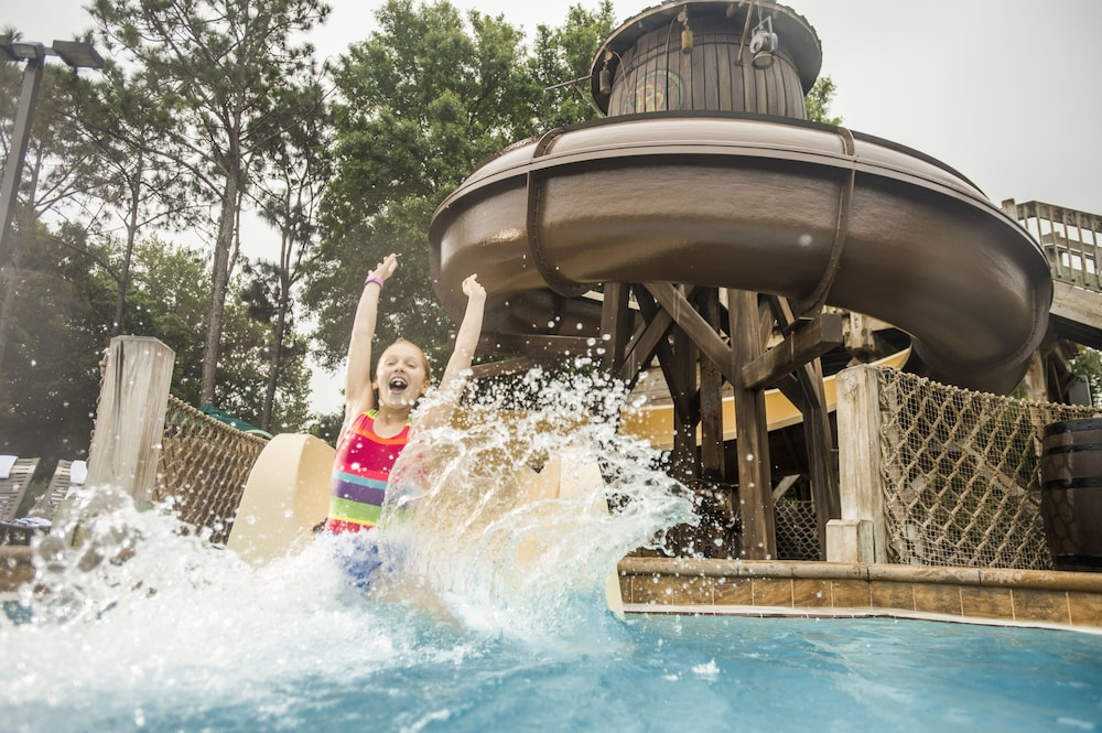Waterslide, The Cabins at Disney's Fort Wilderness Resort