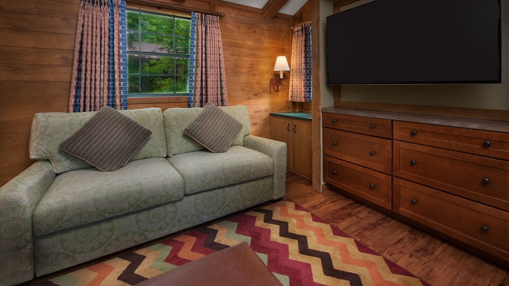 Living Room, The Cabins at Disney's Fort Wilderness Resort