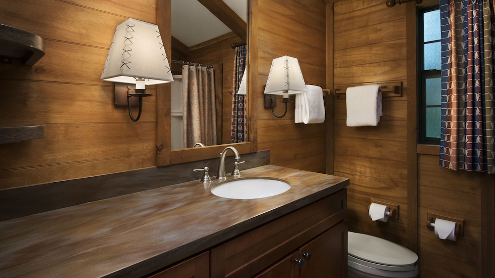 Bathroom, The Cabins at Disney's Fort Wilderness Resort