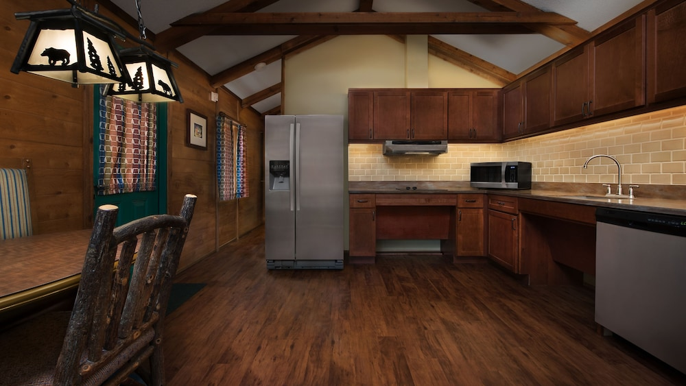 Private Kitchen, The Cabins at Disney's Fort Wilderness Resort