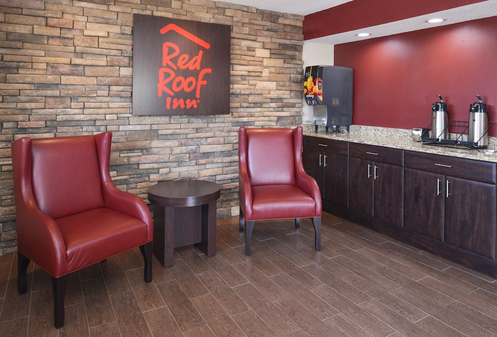 Lobby, Red Roof Inn Champaign - University