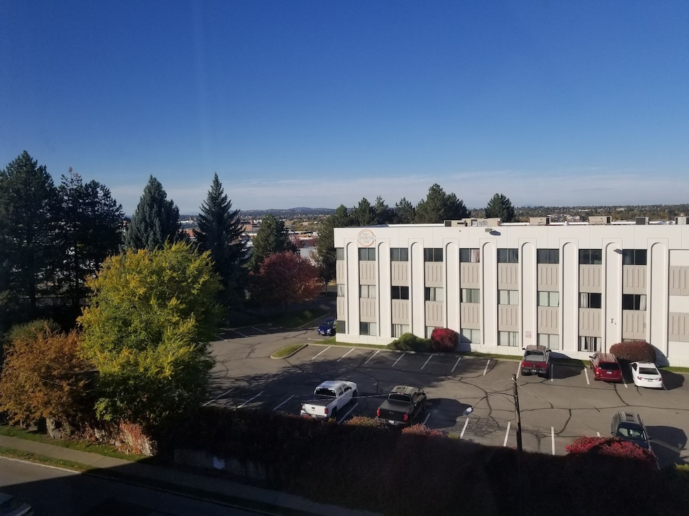 Aerial View, Ramada by Wyndham Downtown Spokane