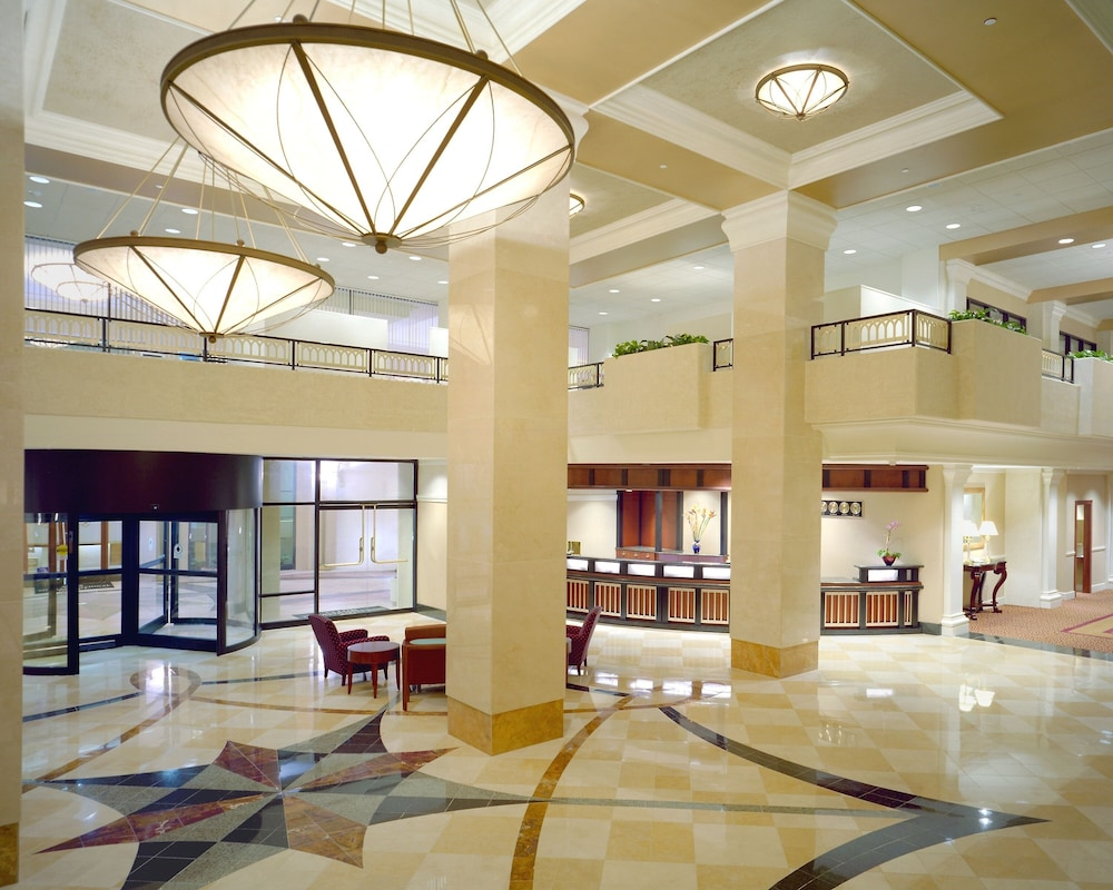 Interior Entrance, Sheraton Pentagon City Hotel