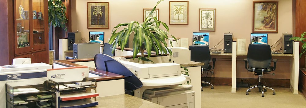 Business Center, Grand Waikikian by Hilton Grand Vacations