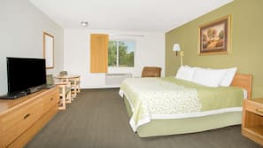 Blackout drapes, free cribs/infant beds, rollaway beds, free WiFi