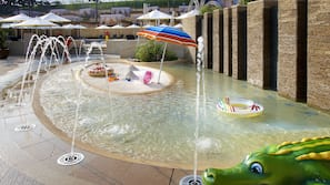 Indoor pool, outdoor pool, open 10:00 AM to 6:30 PM, cabanas (surcharge)