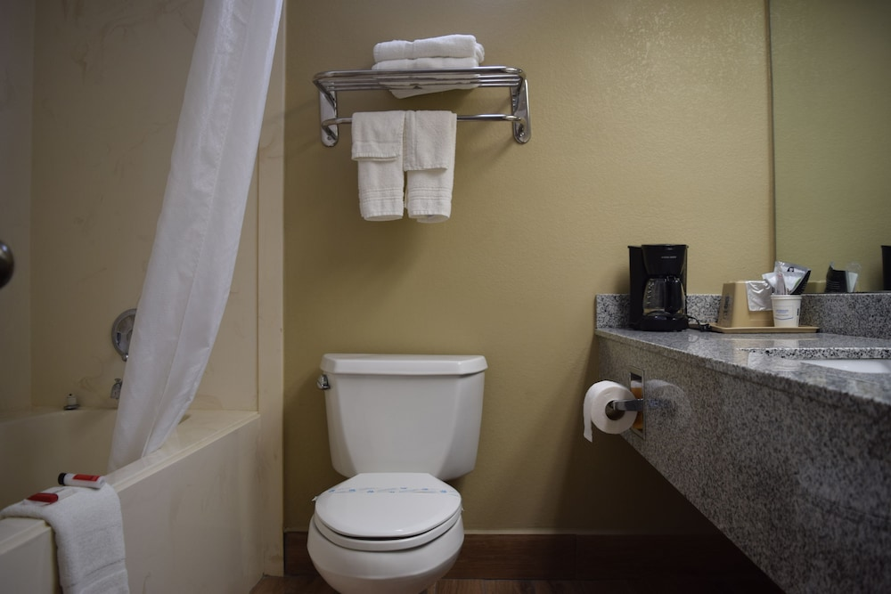 Bathroom, Super 8 by Wyndham Paragould