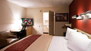 In-room safe, blackout curtains, free cots/infant beds, free WiFi