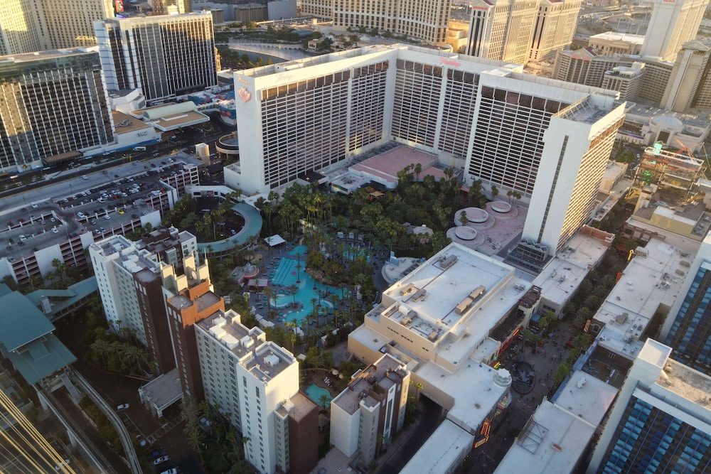Aerial View, Hilton Grand Vacations at The Flamingo