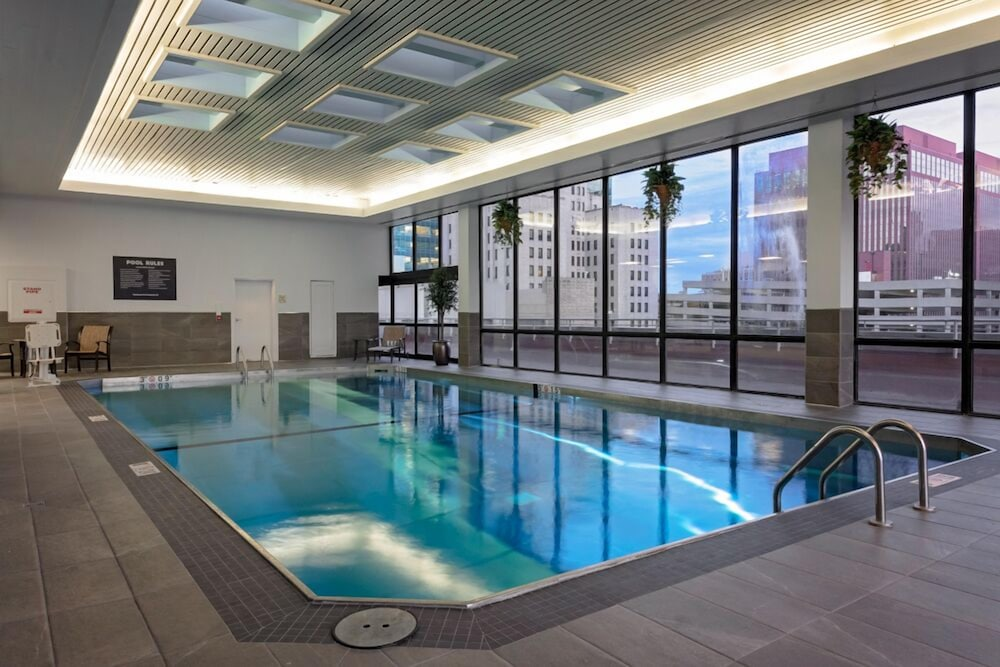 Indoor Pool, DoubleTree by Hilton Omaha Downtown
