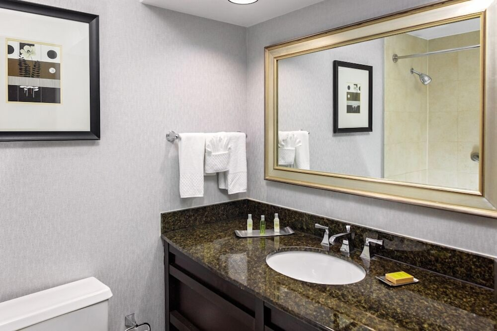 Bathroom, DoubleTree by Hilton Omaha Downtown