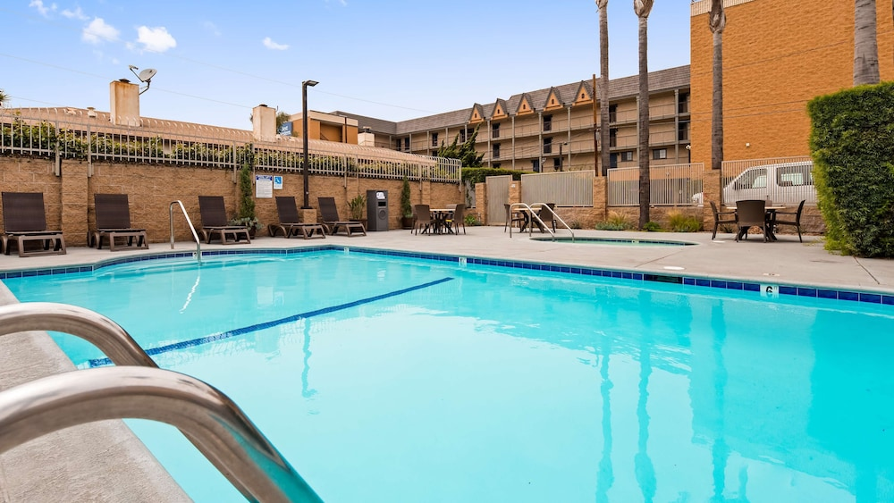 Pool, Best Western Airpark Hotel-Los Angeles LAX Airport