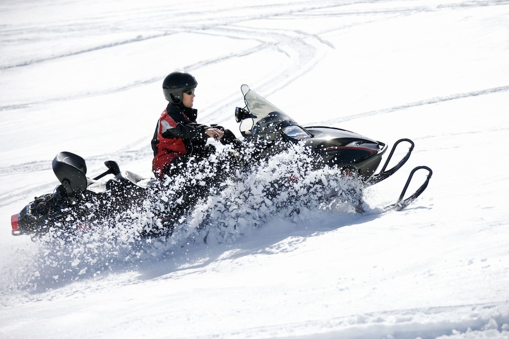 Snowmobiling, Atlantis Casino Resort Spa