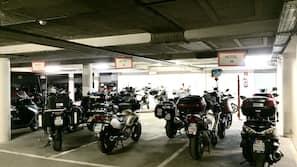 Self parking (EUR 9 per night)