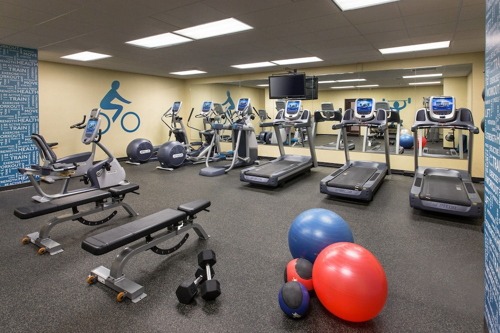 Fitness Facility, The Lincoln Marriott Cornhusker Hotel