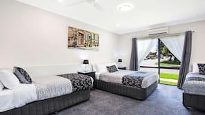 Pillow-top beds, minibar, desk, blackout curtains