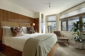 Millennium Suite, 2 Bedrooms, 1 King Bed each. Lounge Access, Breakfast, Canapes, Private Concierge. - Guestroom