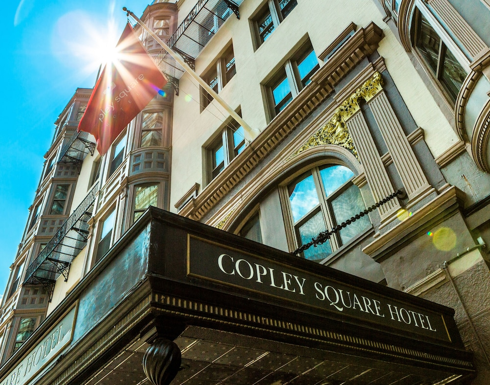 Exterior detail, Copley Square Hotel