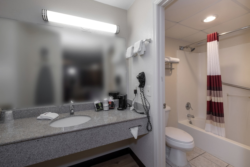 Bathroom, Red Roof Inn & Suites Dothan