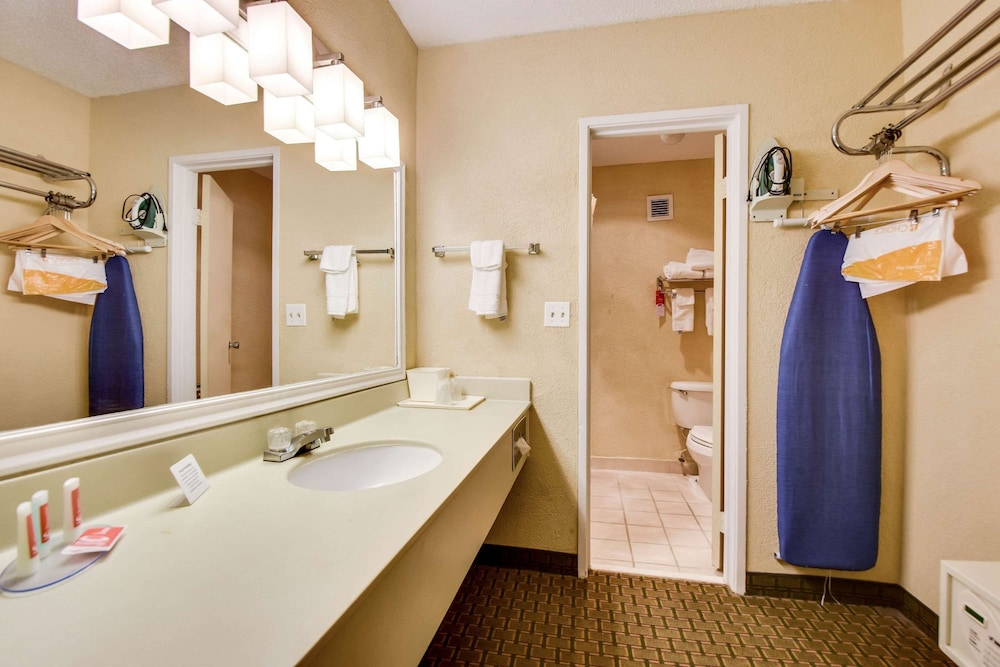 Bathroom, Econo Lodge Busch Gardens