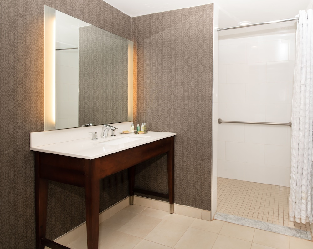 Bathroom, DoubleTree by Hilton Hotel and Suites Charleston Airport