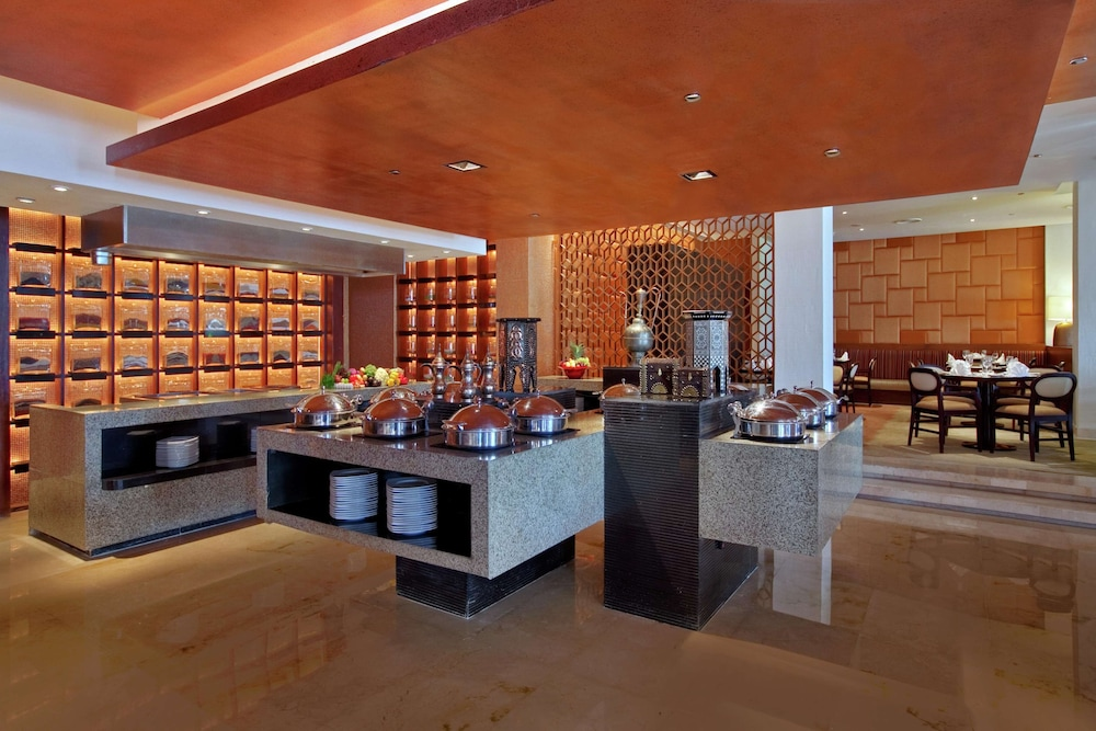 Breakfast buffet, Hilton Luxor Resort & Spa