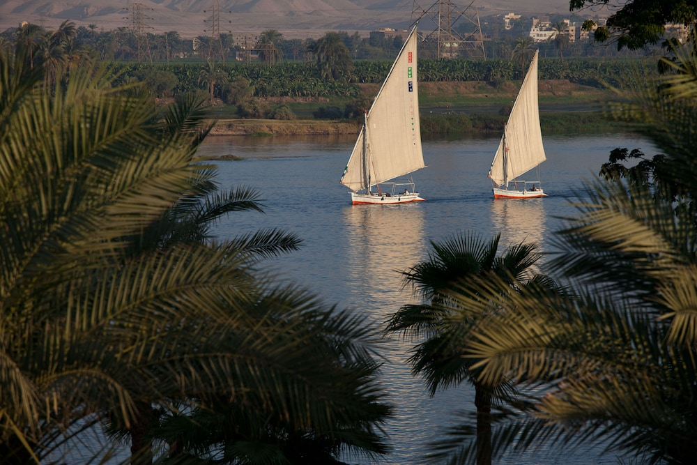 View from Room, Hilton Luxor Resort & Spa