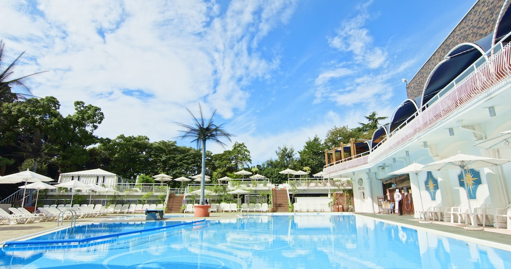Outdoor Pool, Hotel New Otani Tokyo The Main