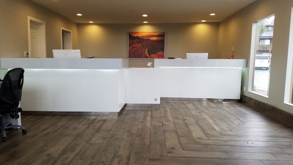 Reception, Hotel Aspen InnSuites Flagstaff/Grand Canyon