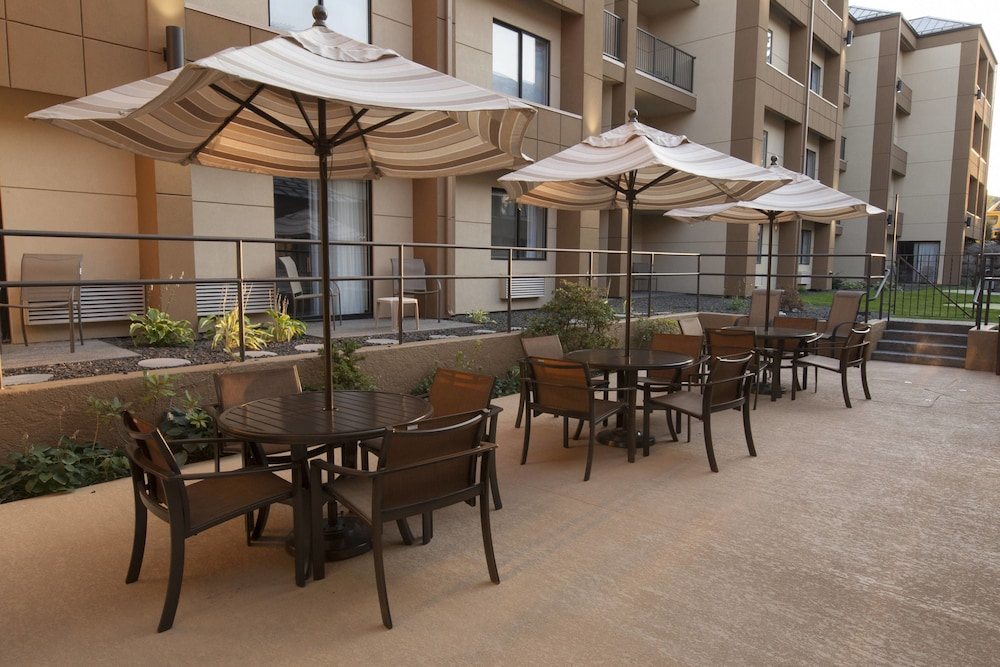 Terrace/Patio, Fairfield Inn & Suites by Marriott Spokane Valley