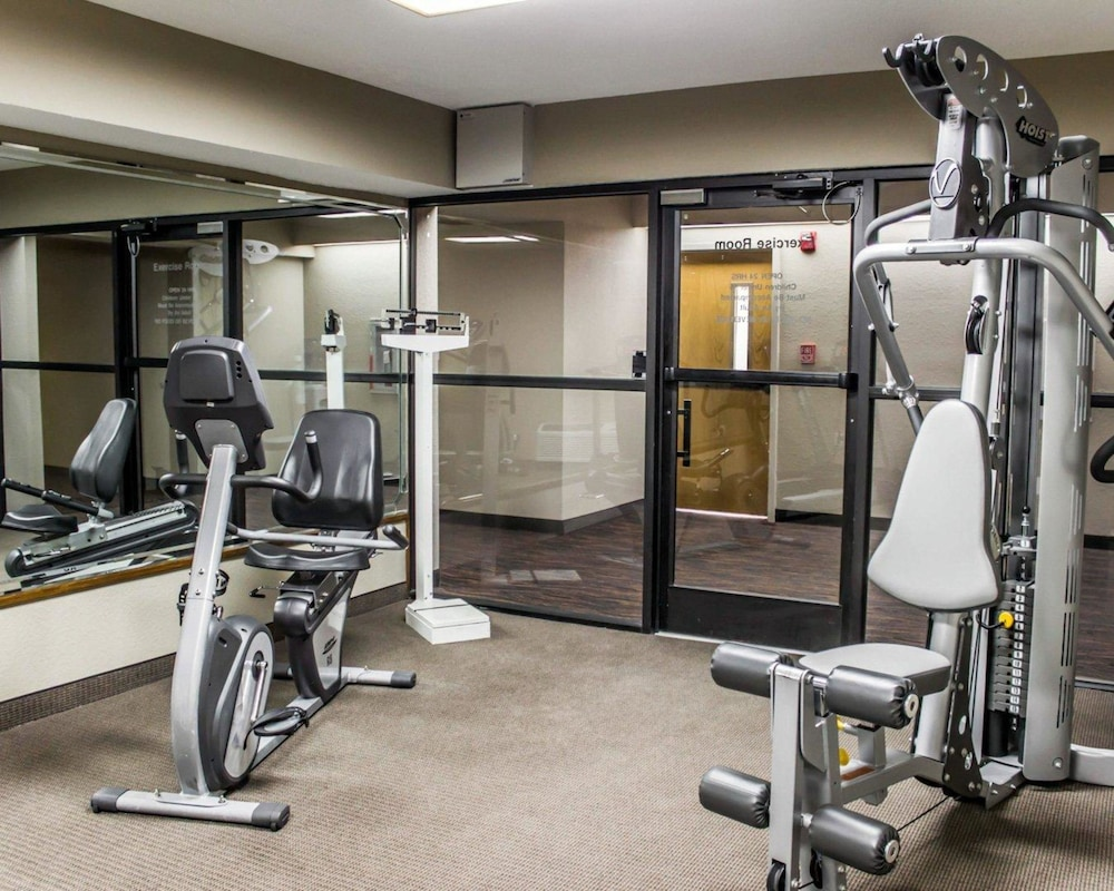 Fitness Facility, Sleep Inn & Suites Near Ft. Bragg