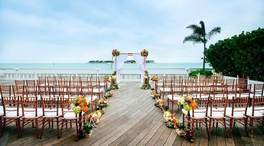 Indoor Wedding, Ocean Key Resort - A Noble House Resort