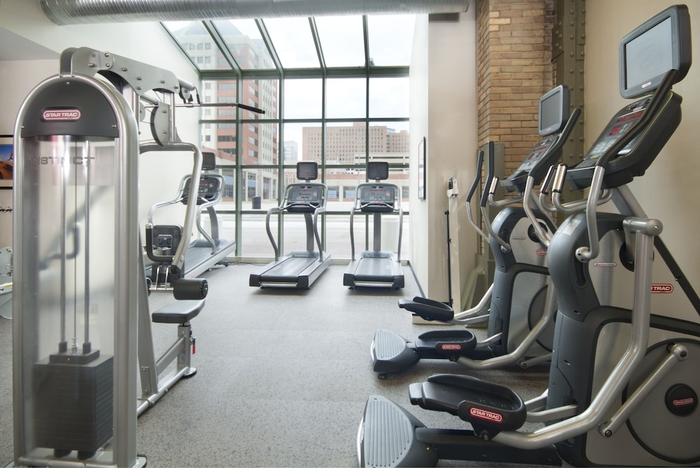 Fitness Facility, Crowne Plaza Indianapolis - Downtown Union Station