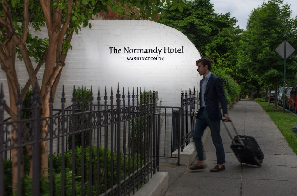Property Entrance, The Normandy Hotel